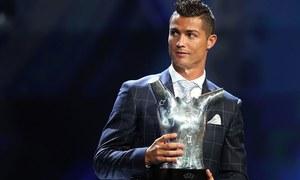 رونالڈو سال کے بہترین یورپین فٹبالر قرار