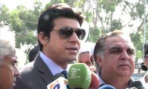 PTI's Faisal Vawda attacked in Karachi