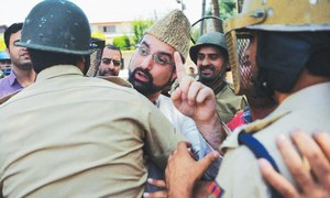 Hurriyat chief Mirwaiz arrested in held Kashmir as toll hits 68