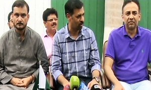 MQM MNA Asif Hasnain defects to Kamal's PSP