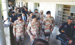 Attack on media houses planned before MQM chief's address, says DG Rangers