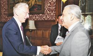 Speaker of House of Lords briefed on Altaf's speech