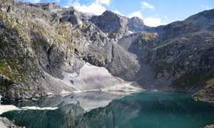 بشیگرام جھیل: سوات کا حقیقی پرستان