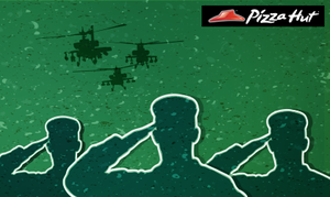 Pizza Hut celebrates Defence Day with 20% discount for military personnel