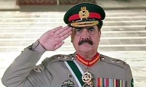 Army chief says threats persist despite successes
