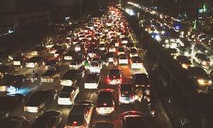 PTI disowns rally after massive traffic jam