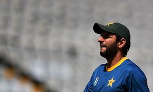 Afridi hints at retirement from International Cricket