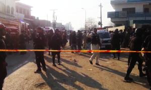 At least 13 injured as police foil suicide blasts targeting Eid prayers in Shikarpur