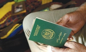 History of the Pakistani passport