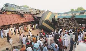 Seven killed in two Punjab train accidents