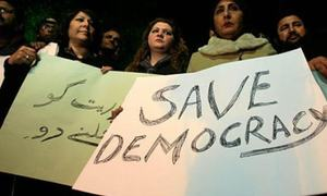 Democracy comes first with people, says survey