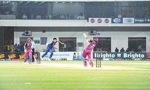 Blues bulldoze Lahore Whites to set up all-Karachi T20 Cup final
