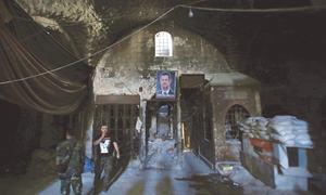 Clashes near Damascus threaten Syria's fragile ceasefire