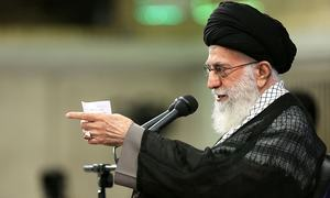 Iran must stand strong against US on regional conflicts: Khamenei