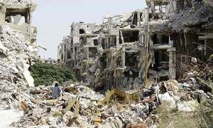 Syrian army declares ceasefire over, blames rebels