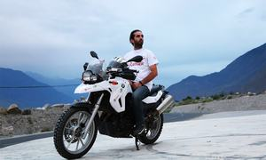 Join biker Moin Khan as he travels across Pakistan in search of 'people who go further'
