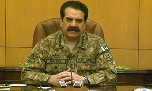 Army chief signs death warrants of seven 'hardcore terrorists'