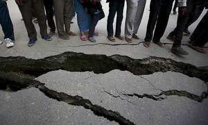 One dead, nine injured as mild quake jolts Sindh