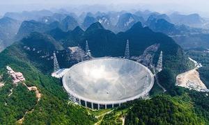 چین میں دنیا کی سب سے بڑی ریڈیو دوربین کا افتتاح
