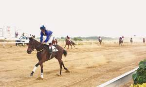Outsiders prevail at Karachi races