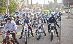 'Distinguished gentlemen and ladies' ride for a cause