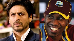 One day Shah Rukh Khan and I will work together on the big screen, says Dwayne Bravo