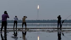 India launches eight satellites into two different orbits