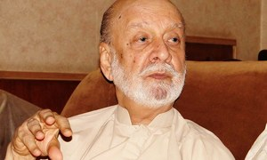 Archives: Balochistan is already under US command, says Ataullah Mengal