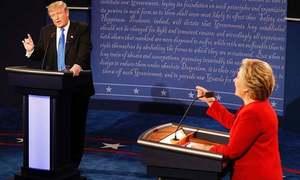 ٹرمپ اور ہیلری پہلے صدارتی مباحثے میں آمنے سامنے