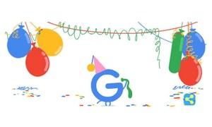 گوگل 18 سال کا ہوگیا