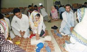 KTH doctors attend basic life support course