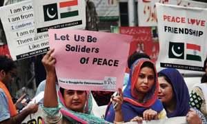 Rally against  war hysteria
