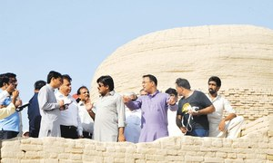 Moenjodaro research institute to be set up at site: official