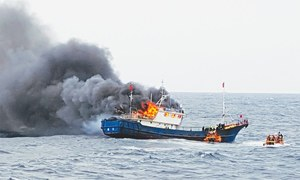 Three Chinese fishermen dead after clash with South Korea coastguard
