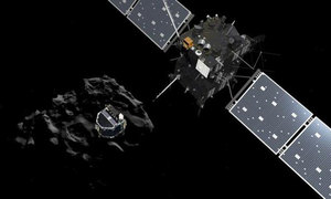 Rosetta crash-lands on comet, ending 12-year space mission