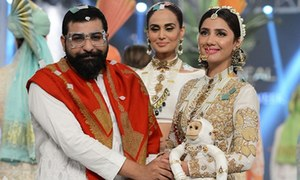 PLBW Day Three: All hail Nomi Ansari and Ali Xeeshan's multicolored bridals