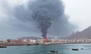 Yemen rebels claim attack on UAE military vessel
