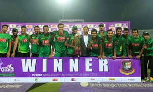 Bangladesh crush Afghanistan to win series