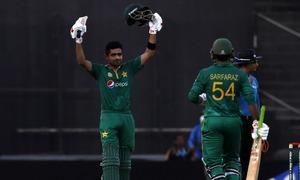 Ton-up Babar Azam anchors Pakistan's series win