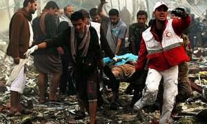 Over 140 dead, 525 injured as Saudi strike hits funeral ceremony in Yemen
