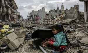 Militant firing on Syrian school kills at least five children
