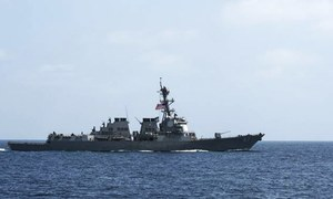 US military strikes Yemen after missile attacks on Navy ship