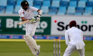 Ton-up Azhar lights up Pakistan's day-night Test against West Indies