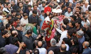 Ashura observed peacefully amid tight security