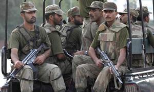 Three FC personnel gunned down in Quetta