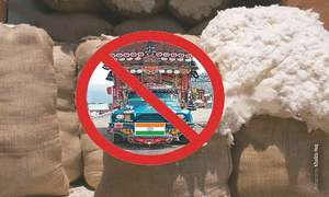 Indians stop selling cotton to Pakistan