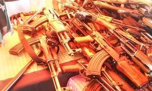 43 militants of banned group surrender