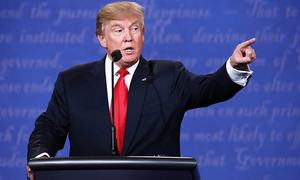 In last debate, Trump suggests he may reject election result