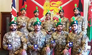 Pakistan Army takes gold in Exercise Cambrian Patrol held in UK