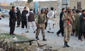 Land mine explosion in Sibbi kills two, 9 injured